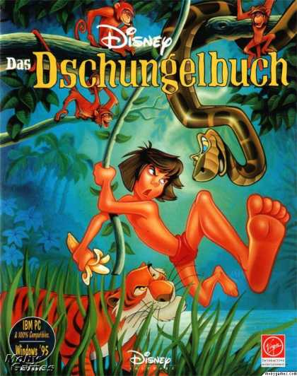 DOS Games - Walt Disney's The Jungle Book