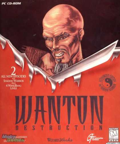 DOS Games - Wanton Destruction