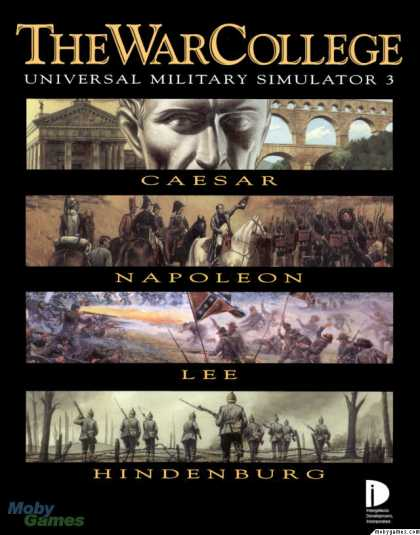 DOS Games - The War College: Universal Military Simulator 3
