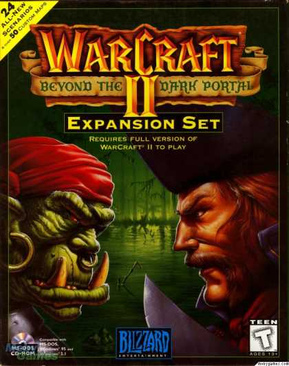 DOS Games - Warcraft II: Beyond the Dark Portal
