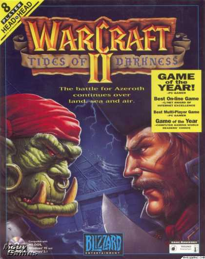 DOS Games - Warcraft II: Tides of Darkness