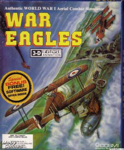 DOS Games - War Eagles