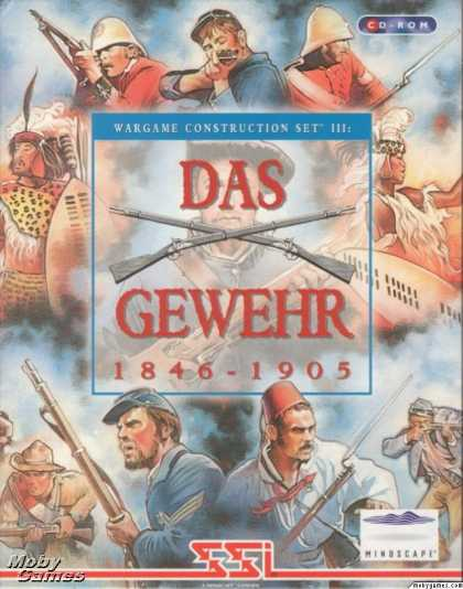 DOS Games - Wargame Construction Set III: Age of Rifles 1846-1905