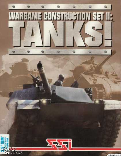 DOS Games - Wargame Construction Set II: TANKS!