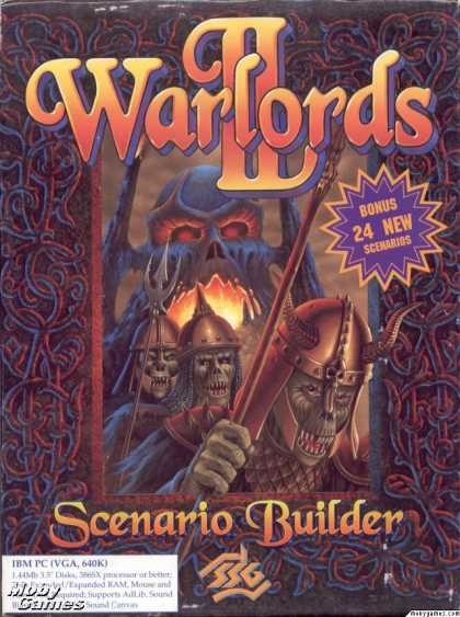 DOS Games - Warlords II Scenario Builder
