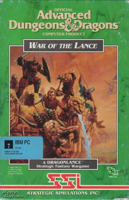 DOS Games - War of the Lance