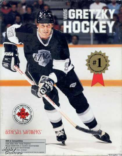 DOS Games - Wayne Gretzky Hockey