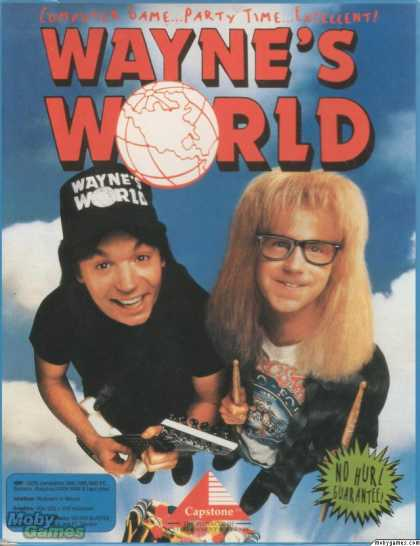 DOS Games - Wayne's World