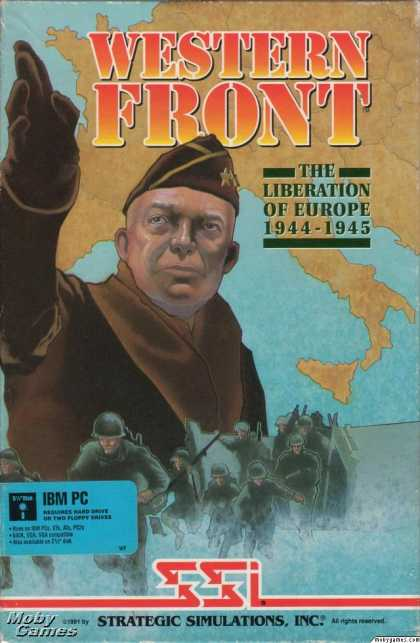 DOS Games - Western Front: The Liberation of Europe 1944-1945