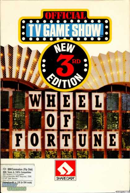 DOS Games - Wheel of Fortune: New Third Edition