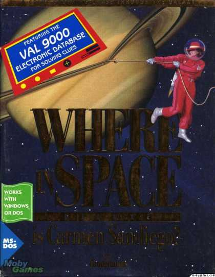 DOS Games - Where in Space is Carmen Sandiego? (Deluxe Edition)
