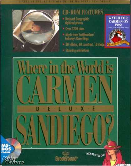 DOS Games - Where in the World is Carmen Sandiego? Deluxe Edition