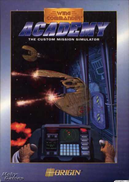 DOS Games - Wing Commander Academy