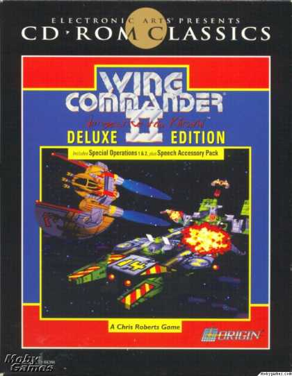 DOS Games - Wing Commander II: Deluxe Edition