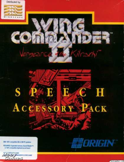 DOS Games - Wing Commander II: Speech Accessory Pack