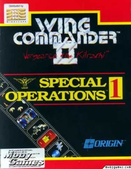 DOS Games - Wing Commander II: Vengeance of the Kilrathi - Special Operations 1