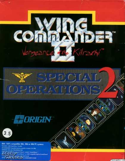 DOS Games - Wing Commander II: Vengeance of the Kilrathi - Special Operations 2