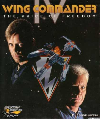 DOS Games - Wing Commander IV: The Price of Freedom