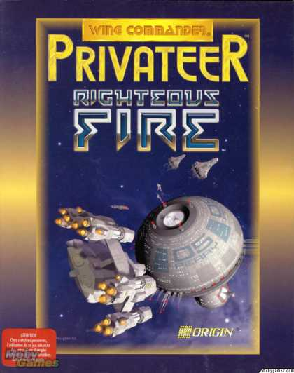 DOS Games - Wing Commander: Privateer - Righteous Fire