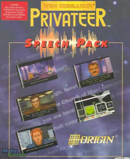 DOS Games - Wing Commander: Privateer - Speech Pack