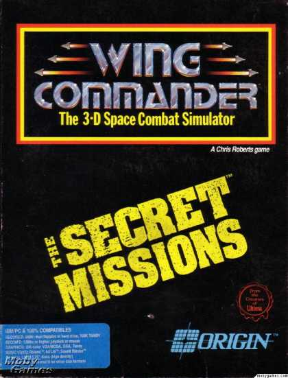 DOS Games - Wing Commander: The Secret Missions