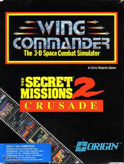 DOS Games - Wing Commander: The Secret Missions 2 - Crusade
