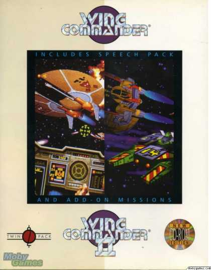 DOS Games - Wing Commander / Wing Commander II (Special CD-ROM Edition)