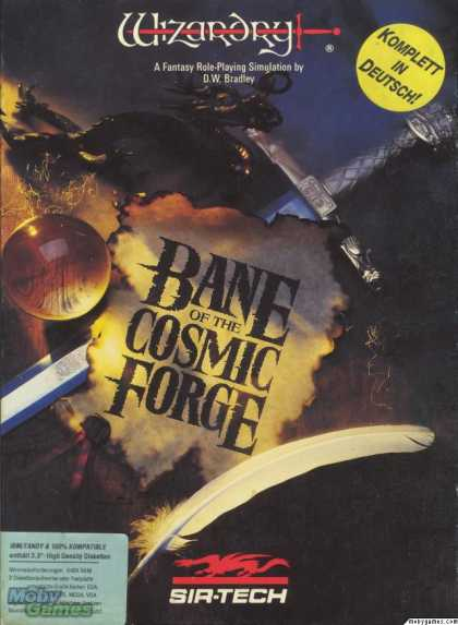 DOS Games - Wizardry: Bane of the Cosmic Forge