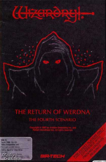 DOS Games - Wizardry IV: The Return of Werdna