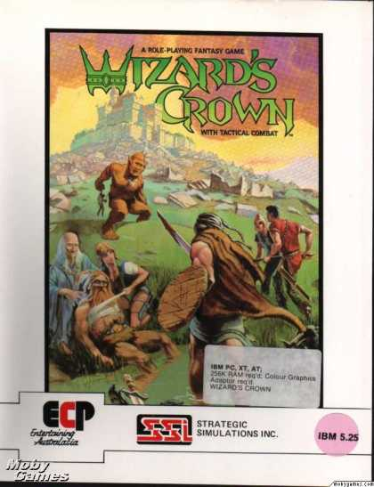 DOS Games - Wizard's Crown