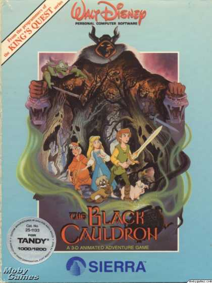 DOS Games - The Black Cauldron