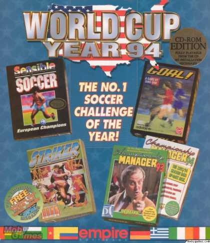 DOS Games - World Cup Year 94