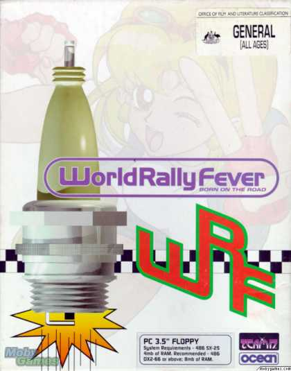 DOS Games - World Rally Fever: Born on the Road
