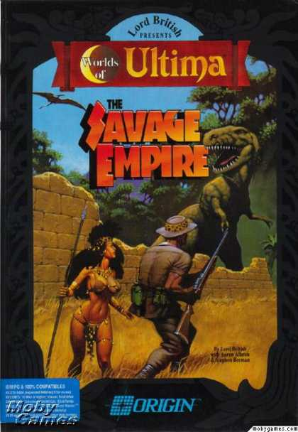 DOS Games - Worlds of Ultima: The Savage Empire