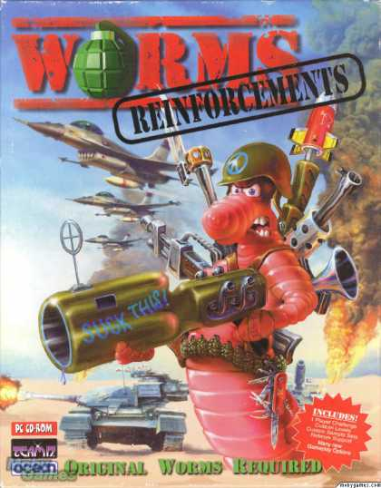 DOS Games - Worms: Reinforcements