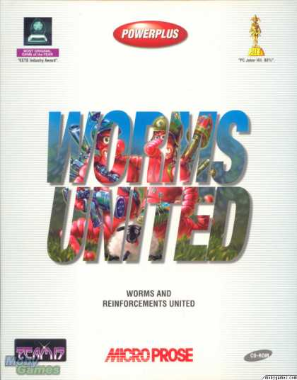 DOS Games - Worms United