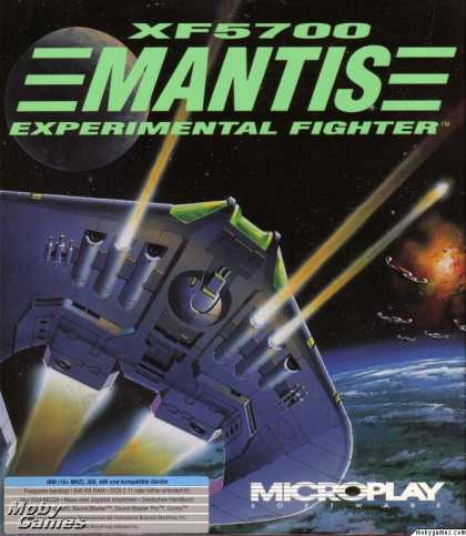 DOS Games - XF5700 Mantis Experimental Fighter