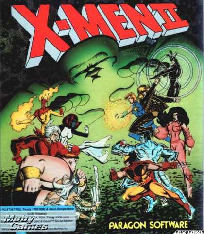 DOS Games - X-Men 2: The Fall of the Mutants