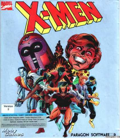 DOS Games - X-Men: Madness in the Murderworld