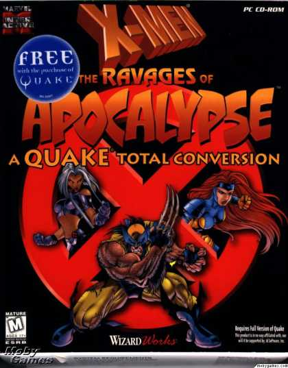 DOS Games - X-Men: The Ravages of Apocalypse