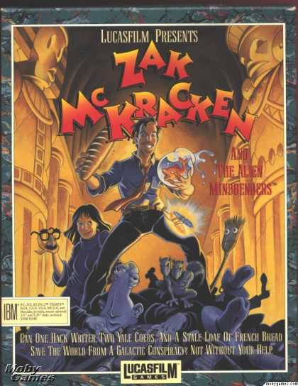 DOS Games - Zak McKracken and the Alien Mindbenders