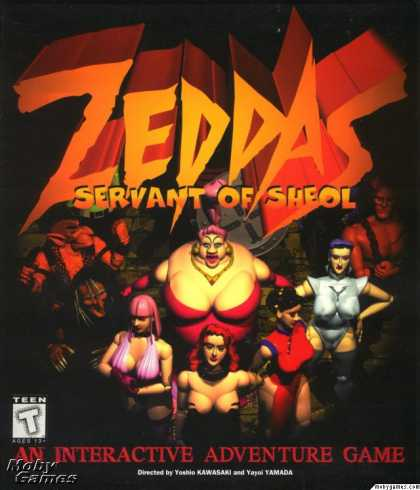 DOS Games - Zeddas: Servant of Sheol