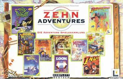 DOS Games - Zehn Adventures