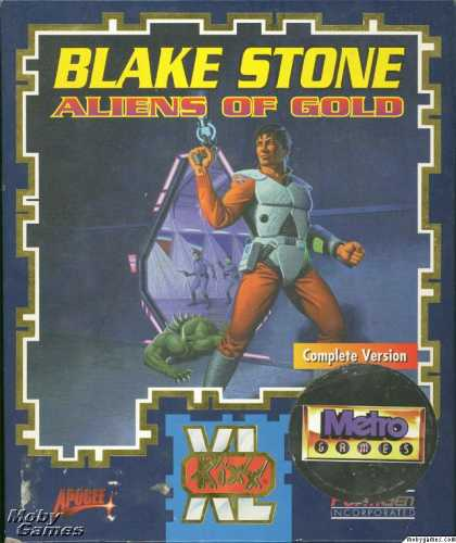 DOS Games - Blake Stone: Aliens of Gold