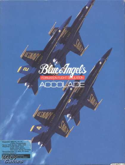 DOS Games - Blue Angels: Formation Flight Simulation