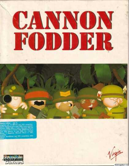 DOS Games - Cannon Fodder
