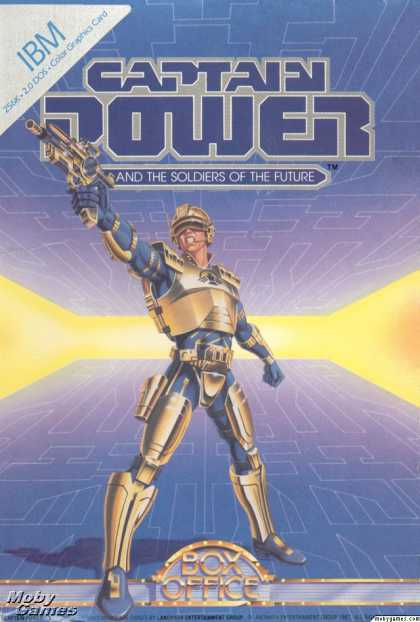 DOS Games - Captain Power and the Soldiers of the Future
