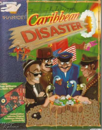 DOS Games - Caribbean Disaster