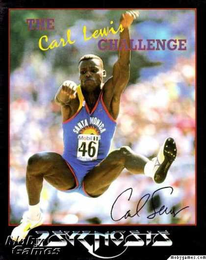 DOS Games - The Carl Lewis Challenge