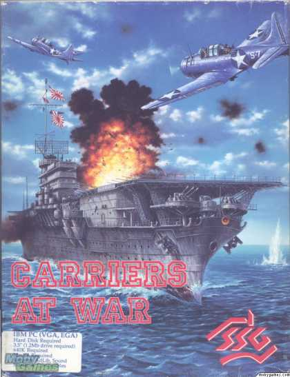 DOS Games - Carriers at War
